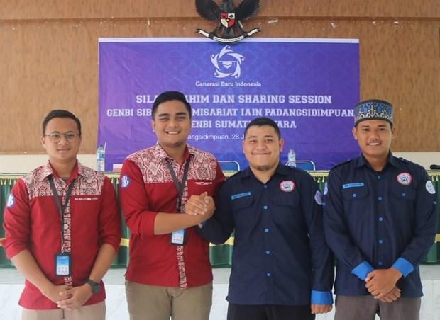 Menyatukan Visi Misi, GenBI Sibolga Komisariat IAIN Padangsidimpuan Menerima Kunjungan GenBI Sumatera Utara