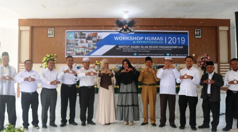 Workshop Humas dan Keprotokolan IAIN Padangsidimpuan Target Rampungkan Juknis Keprotokolan