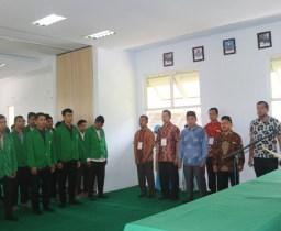 Pengurus Ormawa Fakultas Syari'ah dan Ilmu Hukum IAIN Padangsidimpuan, Dilantik oleh Dekan