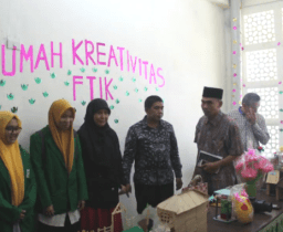 FTIK IAIN Padangsidimpuan Launching Rumah Kreativitas Mahasiswa