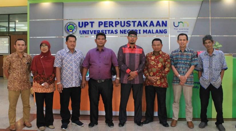 Tingkatkan Pelayanan, Perpustakaan IAIN Padangsidimpuan Bersinergi Dengan Perpustakaan Perguruan Tinggi Indonesia