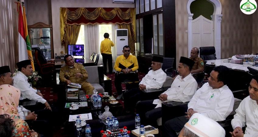 Walikota Padangsidimpuan Dukung IAIN Padangsidimpuan Alih Status Menjadi Universitas