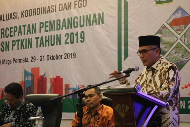 41 PTKIN Berkumpul di Padangsidimpuan untuk Evaluasi Progres Pembangunan  SBSN