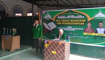 30 Mahasiswa Ikuti MTQ IAIN Padangsidimpuan