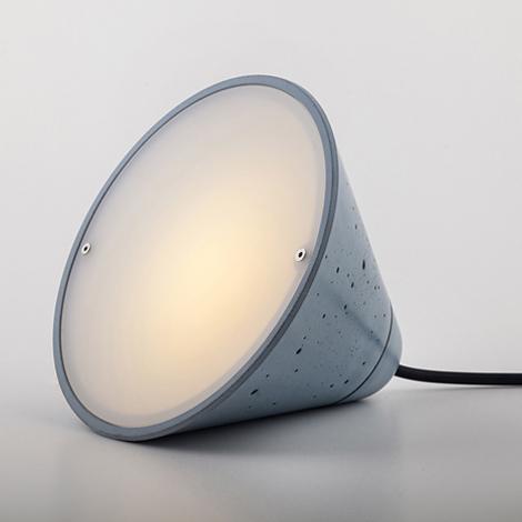 Bullet Collection concrete lamps