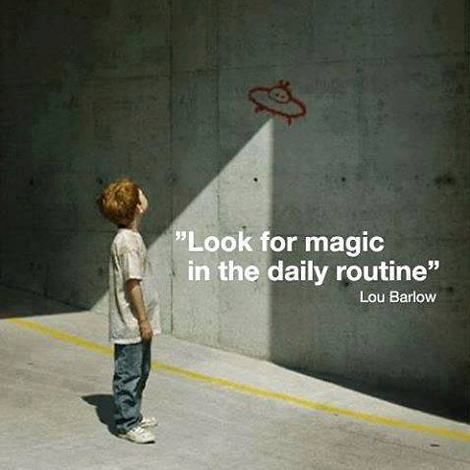 Look for magic…