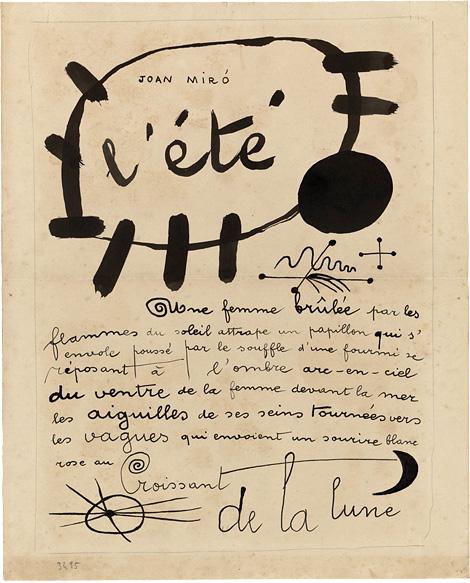 L'été x Miró
