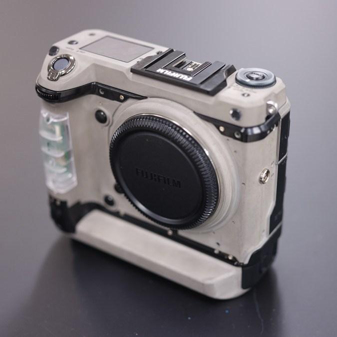 Pre-production Fujifilm GFX100