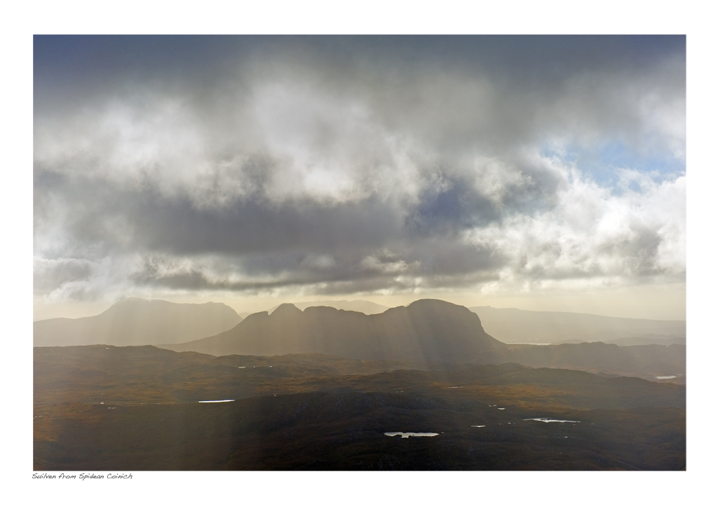 NWH_20_06. Assynt from Spidean Coinich (Quinag)
