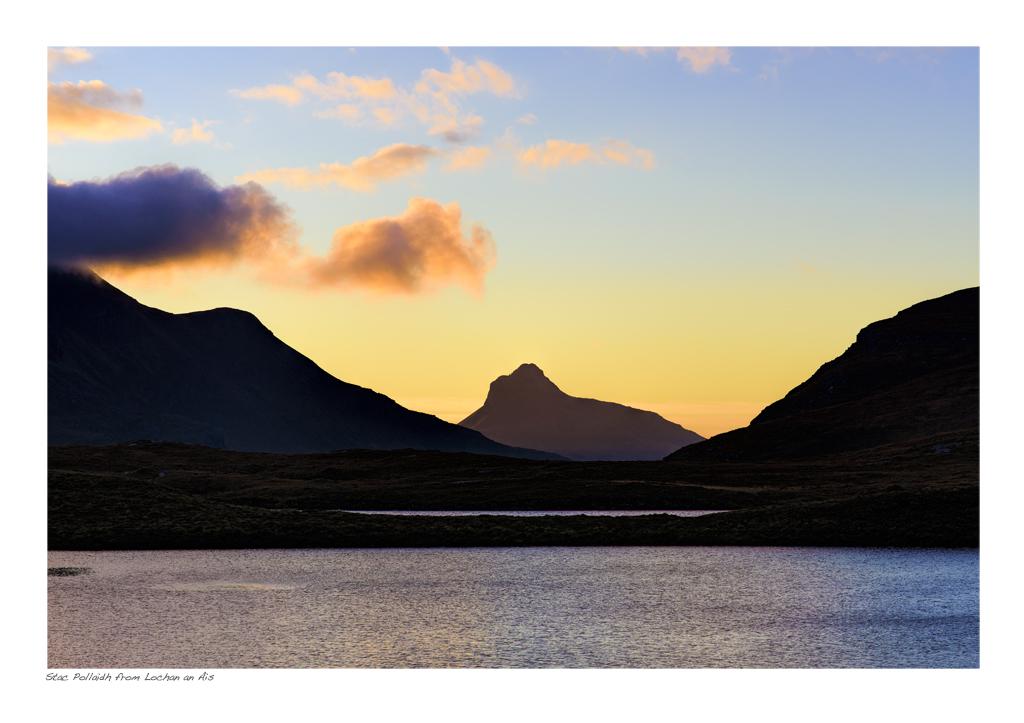 NWH_20_30 Stac Pollaidh from Lochan an Ais