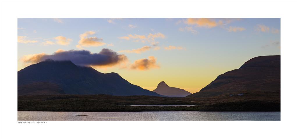 NWP_34_31. Stac Pollaidh from Loch an Ais, Wester Ross