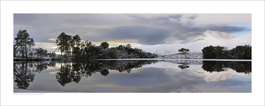 NWP_40_05 Beinn Mor Coigach from Loch cul Dromannan