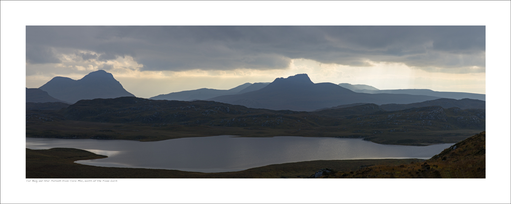 NWP_40_10. Stac Pollaidh from the Fionn Loch