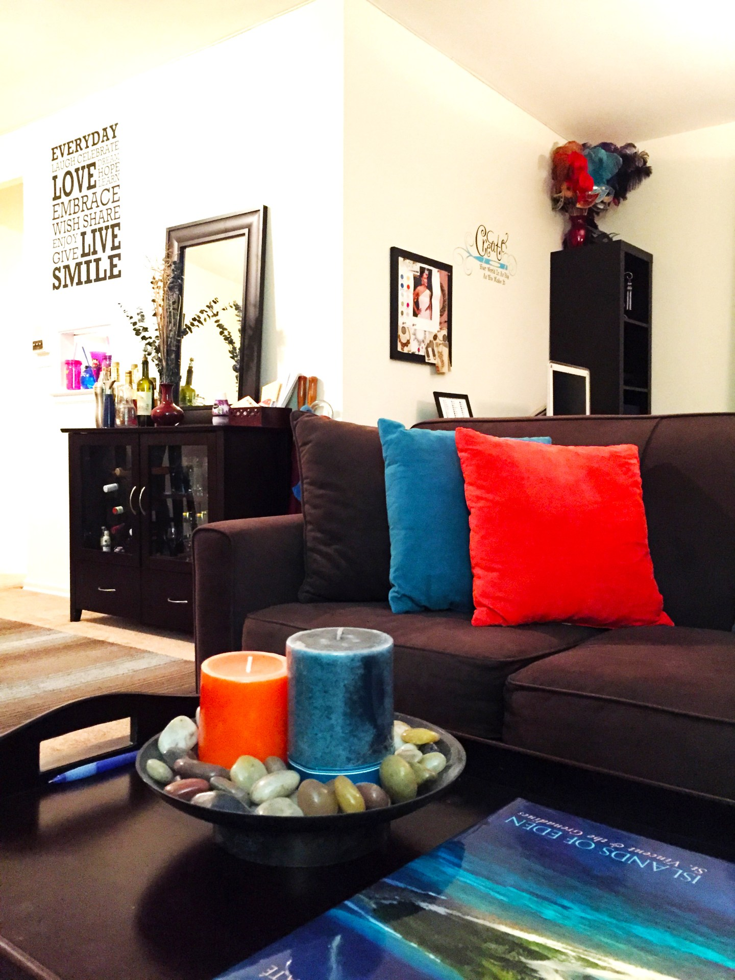 Splash your Apartment with Color