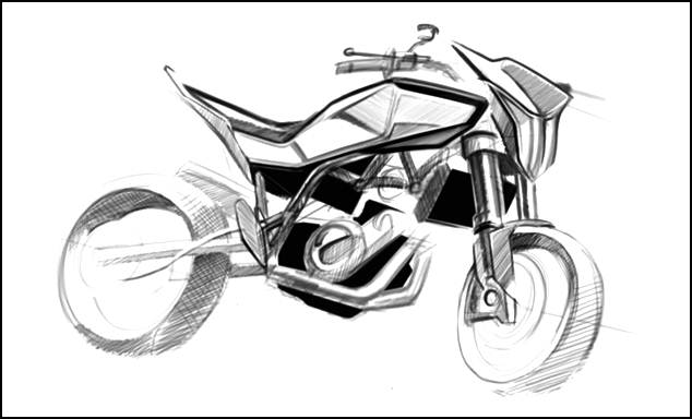 Husqvarna releases first sketches of new its 900cc street