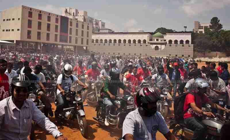Jawa - Yezdi day Bangalore24