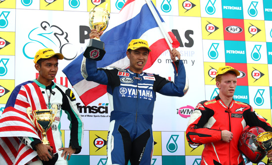 Asia Road racing championship results 2011 Chennai round 3