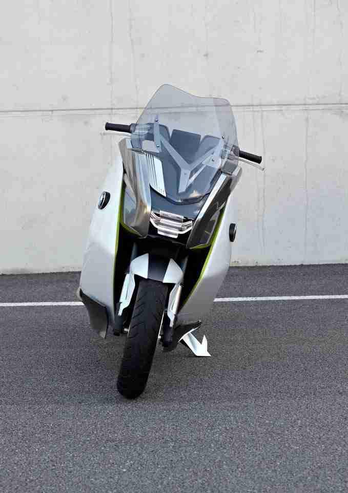 BMW concept e scooter 10