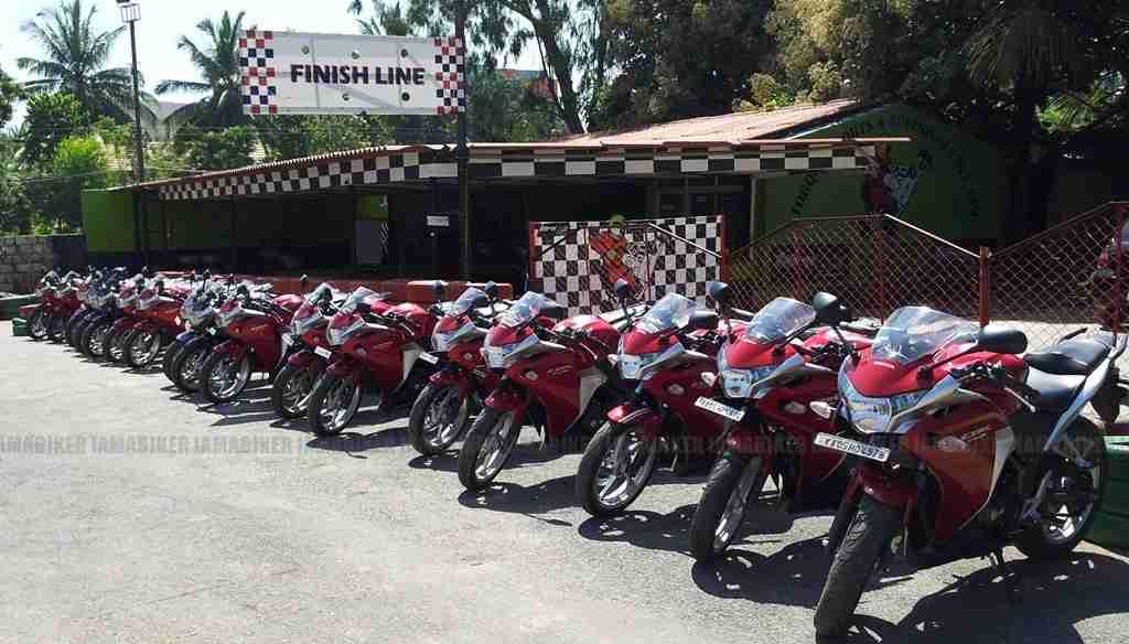 Honda CBR customer event 01