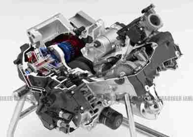 Honda Integra 700 superscooter