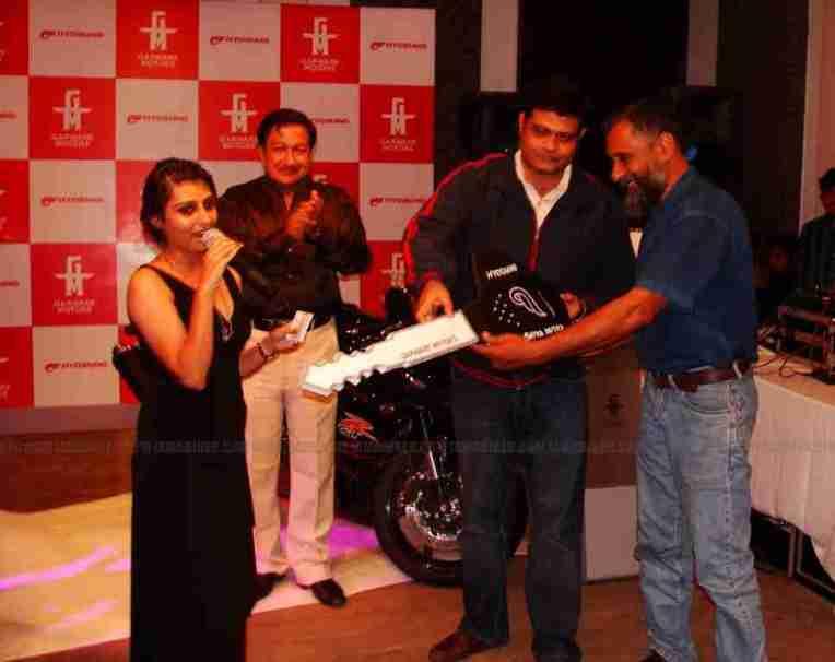 Hyosung Garware Bangalore 05Satya Mitra Motors
