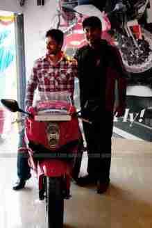 Hyosung Garware Motors Bangalore showroom launch 04