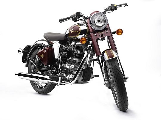 Royal Enfield Classic Chrome 500 and Desert Storm 500 India launch 05