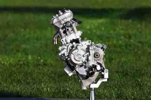KTM moto3 engine