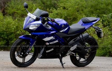 New Yamaha R15 V2.0 2011 08
