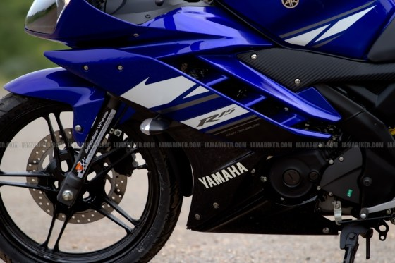 New Yamaha R15 V2.0 2011 12