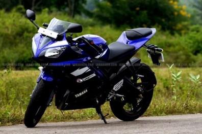 New Yamaha R15 V2.0 2011