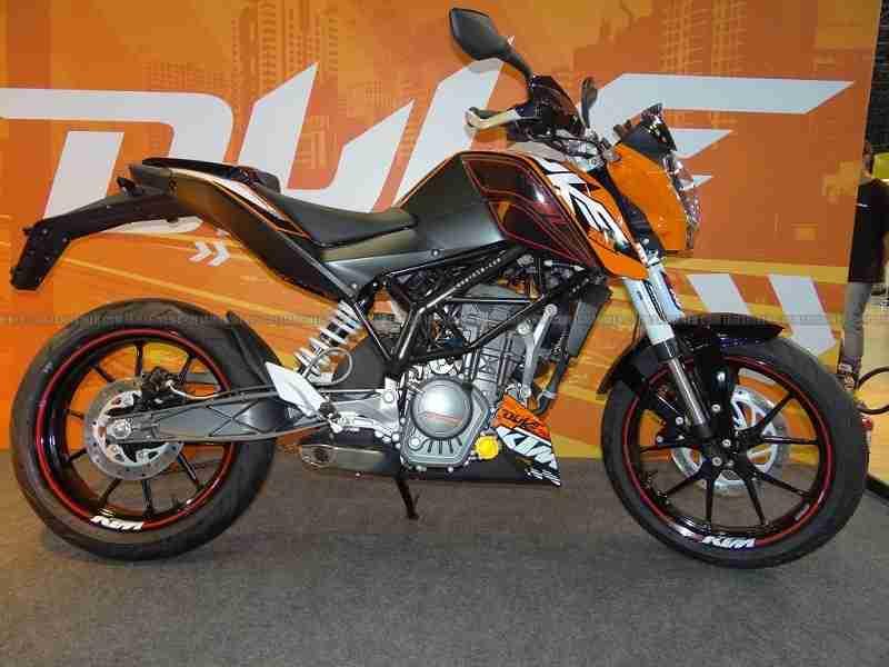 KTM Duke 200 Click to enlarge
