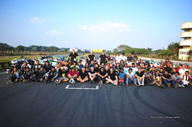 California Superbike School India 2012 dates announced 07 IAMABIKER