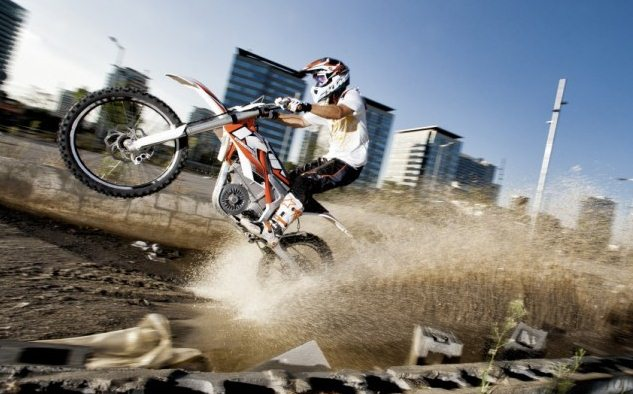 KTM Freeride E - first electric from KTM
