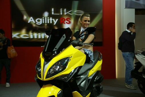 KYMCO Xciting 400i for 2012 05 IAMABIKER