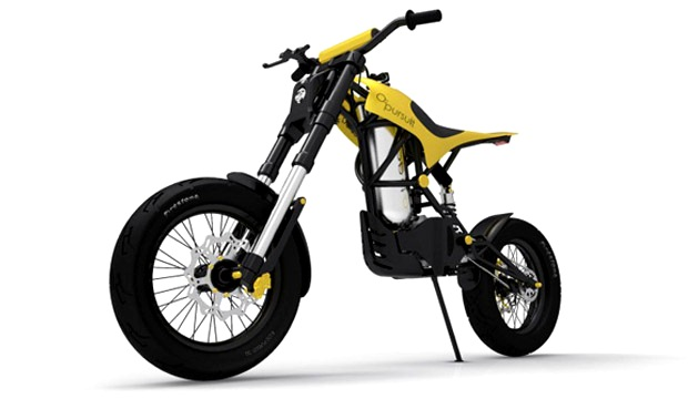'O2 Pursuit' the bike that runs on compressed air