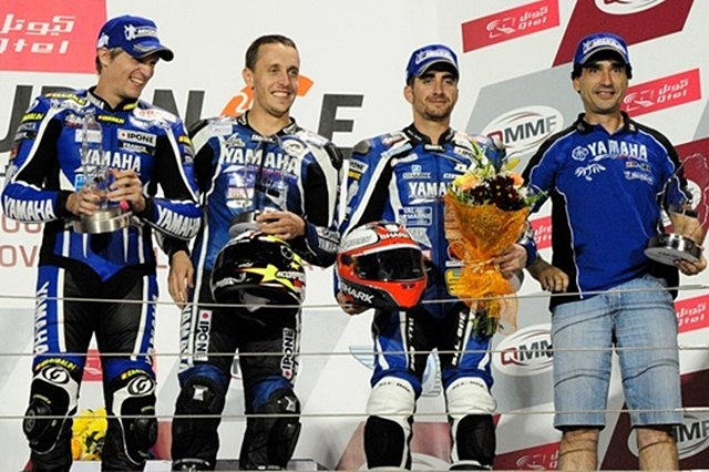 YZF-R1 takes double victory at eight hours of Doha