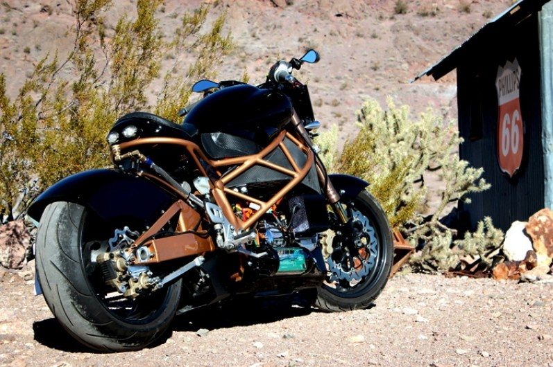 Brutus 2 Electric Motorcycle 03