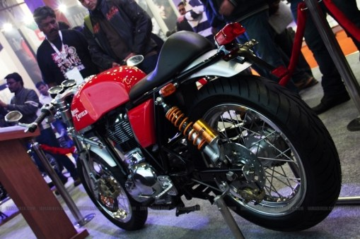 Cafe Racer Royal Enfield Auto Expo 2012 India 01