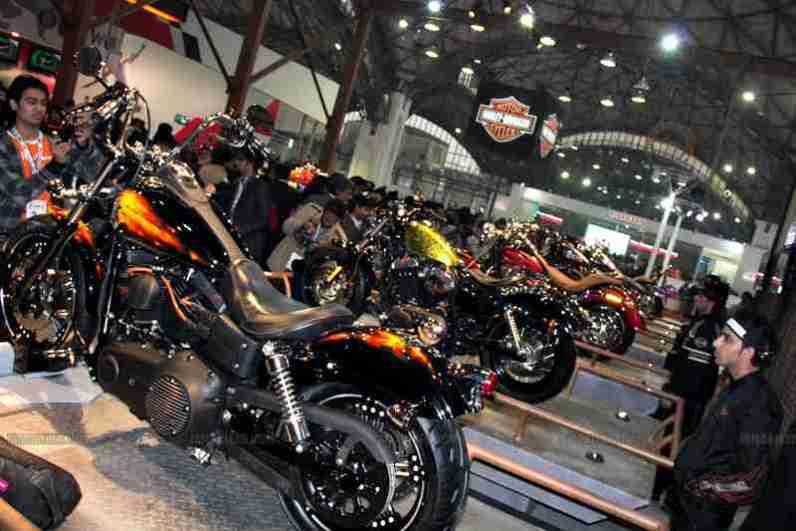 Harley Davidson Auto Expo 2012 India 13