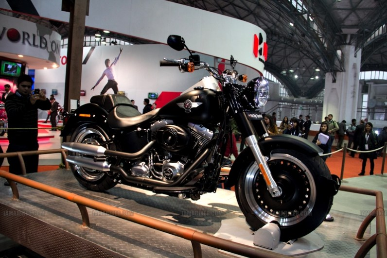 Harley Davidson Auto Expo 2012 India 24