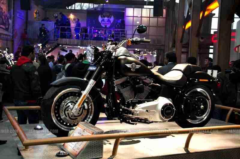 Harley Davidson India Auto Expo 2012