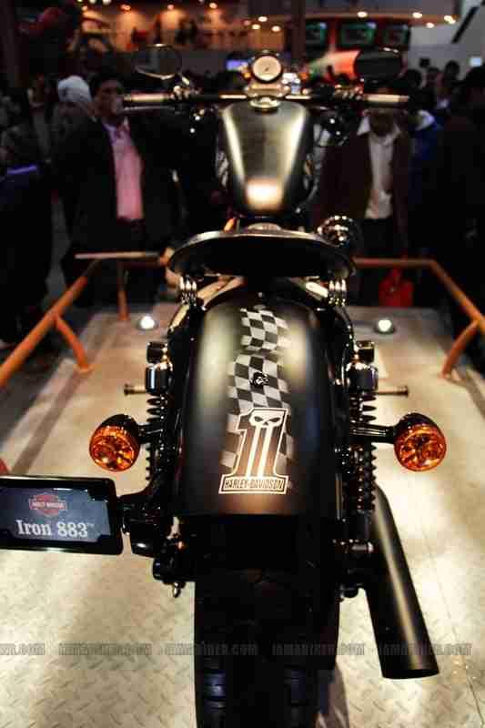 Harley Davidson India Auto Expo