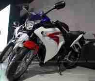 Honda CBR 250 HRC colours Auto Expo Delhi