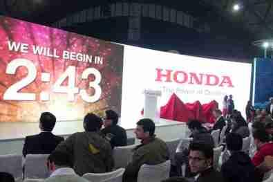 Honda Motorcycles Auto Expo 2012 India -1
