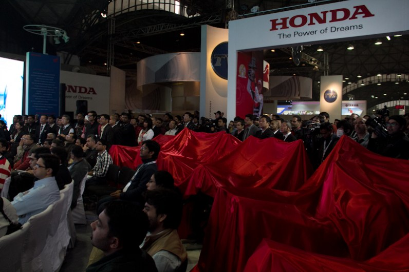 Honda Motorcycles Auto Expo 2012 India -16