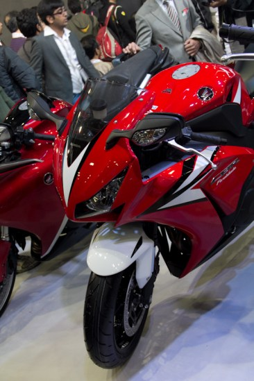 Honda Motorcycles Auto Expo 2012 India -31