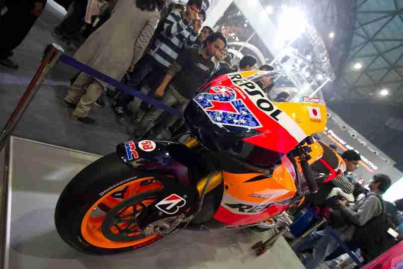 Honda Motorcycles Auto Expo 2012 India -32