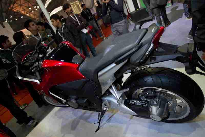 Honda Motorcycles Auto Expo 2012 India -44
