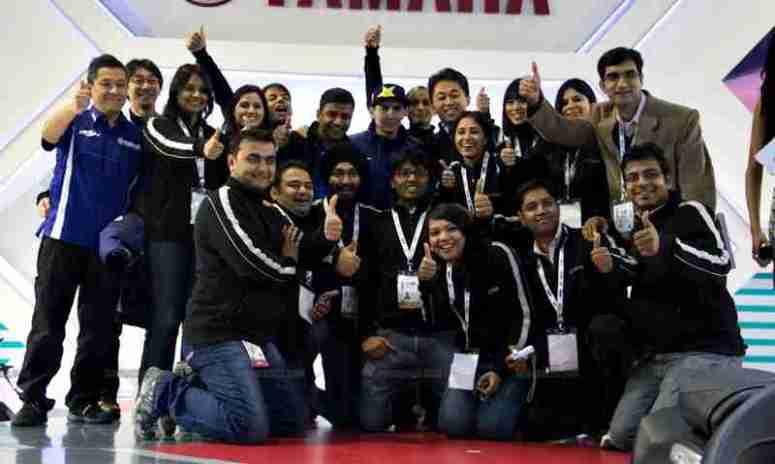 Jorge Lorenzo Auto Expo 2012 India 11